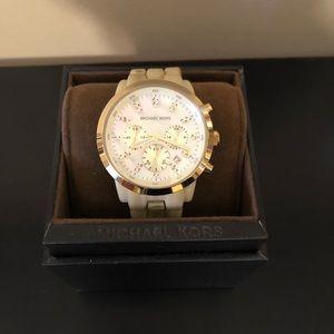 Women's MK5217 Oversized Horn Watch